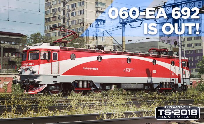 EA 692 is out of the depot!