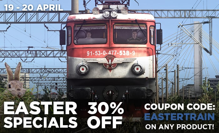 Easter Discount Train Motion
