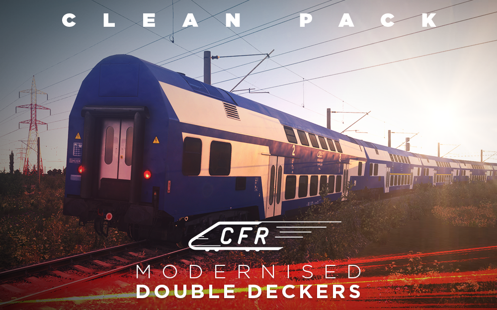 CFR Modernised Double Deckers Clean Pack
